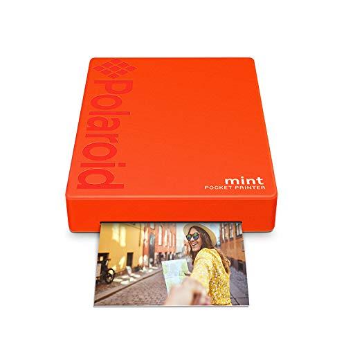 """Produktbild Polaroid Mint: Taschendrucker mit Zink-Papier. Bluetooth für Android- und iOS-Geräte. Druckt in selbstklebendem Zink-Papier 2x3""""- Rot"""