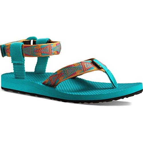Teva - Original Sandal W's, Sandali Donna mosaic orange