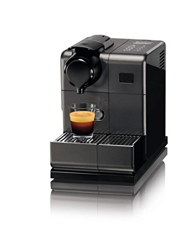 Nespresso EN550.BM Lattissima Touch Automatic Coffee Machine, Matt Black