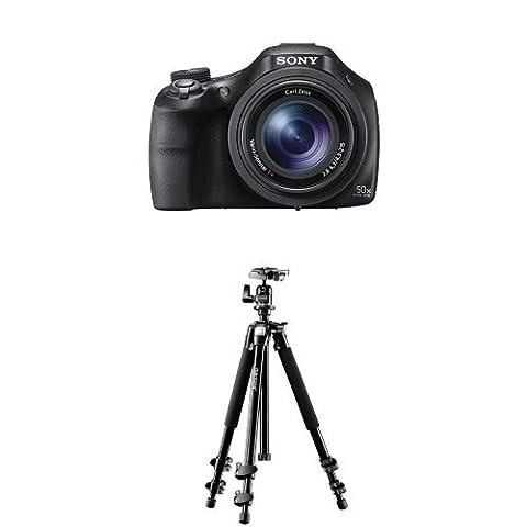 Sony DSC-HX400V Digitalkamera (20.4 Megapixel, 50-fach opt. Zoom, 7,5 cm