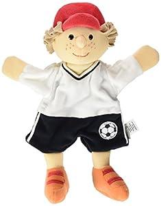 Sterntaler- 3601706-marioneta de Mano Jugadores de Fútbol