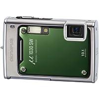 """Olympus µ-1030 SW Appareil photo numérique Compact 10,7 Mpixels Zoom 3,6x Ecran 2,7"""" Plein soleil Etanche 10m Antichoc 2m Vert"""