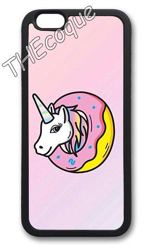 Coque silicone BUMPER souple IPHONE 5C - Licorne unicorn Cheval mignon CASE tpu DESIGN + Film de protection INCLUS 6