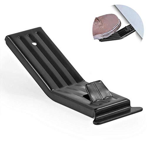 xinxinyu Fuß Lifter für Trockenbau, Gipskarton Plattenheber Fußplattenträger Trockenbauwand Werkzeuge zum Anheben von Metall Mini ziehender Fußheber für Trockenbauplatte Langlebig (Schwarz)