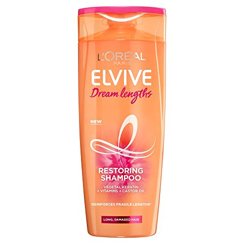 L'Oreal Elvive Dream Lengths Long Hair Shampoo, 400 ml