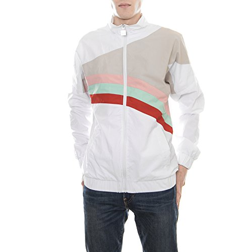 Diadora Rainbow Track Jacket F&F - Optical White