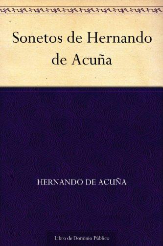 Sonetos de Hernando de Acuña por Hernando de Acuña