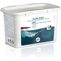 Gre Cloro Choque en Pastillas de 20 Gr (1 kg), Blanco, 18x10x11 cm, 76020