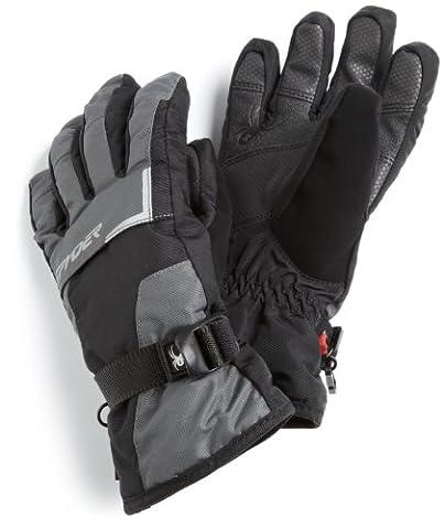 Spyder Boy 's Traverse Gore-Tex Handschuh, Jungen, dark shadow (Glove Dark Shadow)