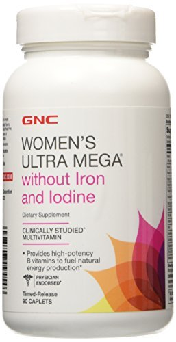 gnc-womens-ultra-mega-without-iron-and-iodine-multivitamin-timed-release-caplets-90-ea-by-gnc-womens
