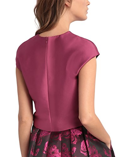 APART Fashion Damen Top 30987 Rosa (Fuchsia)