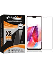 FRIENDSKART Tempered Glass Premium Quality [9h Hardness][HD Clear] Tempered Glass for Oppo F7
