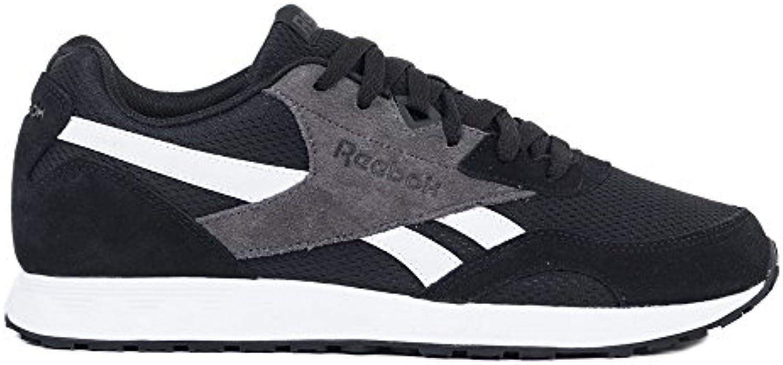 Reebok Royal Connect, Zapatillas de Trail Running para Hombre, Negro (CP/Black/White/Ash Grey 000), 45 EU