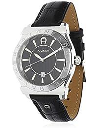 amazon co uk aigner watches aigner men watch bolzano black a24115