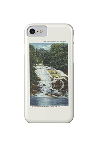 ithaca-new-york-buttermilk-farms-state-park-lower-falls-view-iphone-7-cell-phone-case-slim-barely-th