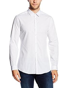 New Look Smart Pin Dot, Camisa para Hombre