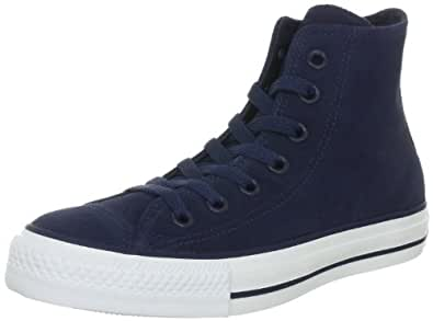 Converse Chuck Taylor All Star Suede Athletic Navy 126719C, Unisex-Erwachsene Fashion Sneakers, Blau (Athletic Navy), EU 35 (US 3)