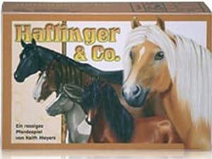 Adlung Spiele 46122 Haflinger und Co. - Juego de Tarjetas sobre Caballos (Contenido en alemán)