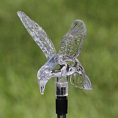 MingXinJia Moderne Kronleuchter Deckenleuchten Anhänger Solar Farbwechsel Kolibri Garten Stake Licht 3C Ce FCC Rohs für Wohnzimmer Schlafzimmer -