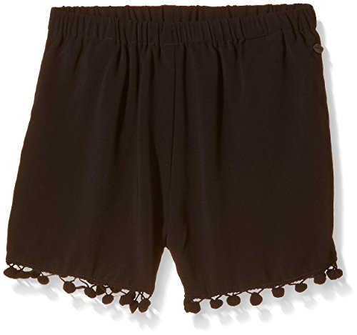 Teddy Smith Sipon JR, Shorts Bambina, Nero, 12 Anni
