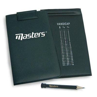 Masters Score Kartenhalter Schwarz -