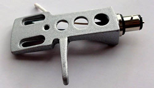 Silber Farbige Headshell Kartusche Halterung mit Gold Terminals und vernickelte Stecker passend für die meisten Turntables Tonarme -