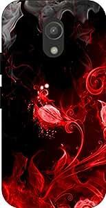 Go Hooked Designer Moto G2 Designer Back Cover | Moto G2 Printed Back Cover | Printed Soft Silicone Back Cover for Moto G2