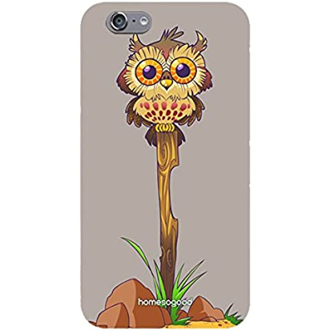 HomeSoGood Sitting On Dry Log Grey Mobile Cover For iPhone 6S (Back Cover)