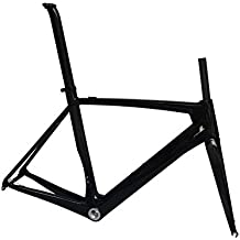 Bicicleta de carretera cuadro (de carbono para BSA): 52cm Marco Tenedor abrazadera de tija de sillín