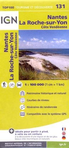 Nantes / La-Roche-sur-Yon ign par Institut Géographique National