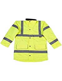 Warrior Men's Nevada High Visibility Jacket