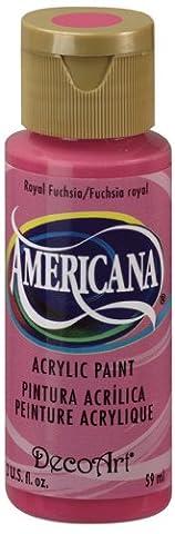 DecoArt Americana 2 oz Acrylic Multi-Purpose Paint, Royal