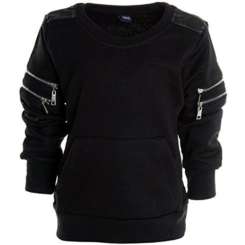 Jungen Winter Kinder Rundhals Pullover Hoodie Sweat Shirt Jacke Langarm Pulli 20787