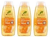Dr. organic- Manuka Honey Duschgel 3Packungen 250ml Revitalisierend, sensible, empfindliche Haut