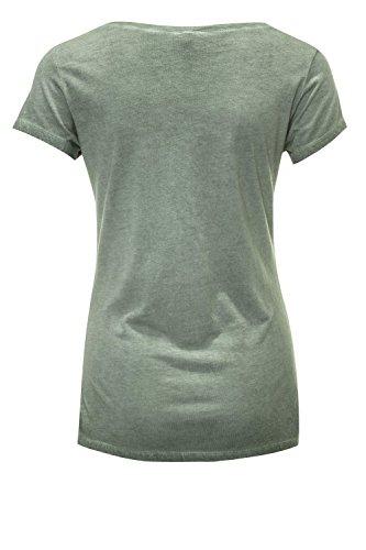 Key Largo Damen T-Shirt Kurzarmshirt Shirt Olive