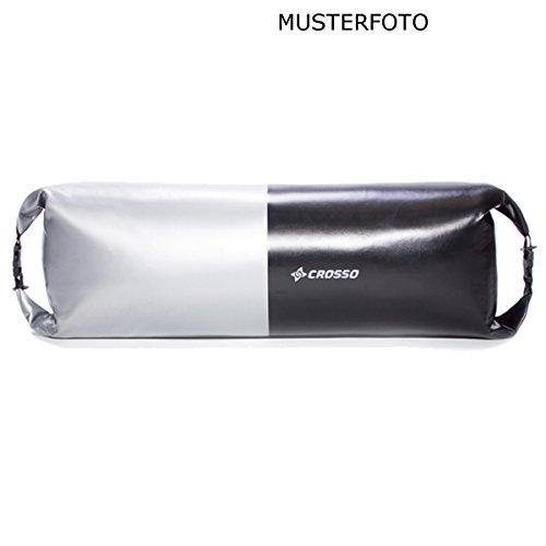 CROSSO CO1019 20L Transportbeutel wasserbeständig Fahrradtasche Gepäcktasche Schwarz