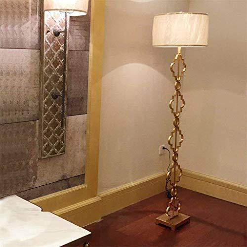 LDD Stehlampe/Tischlampe, Amerikanische/Europäische Kupfer Eisen Stehlampe, einfache Persönlichkeit dekorative Beleuchtung, Schlafzimmer/Wohnzimmer / Studie Stehlampe -