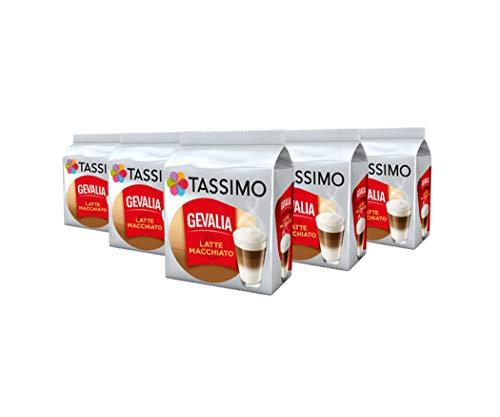 e Macchiato Kaffee Kapseln Pods T Discs 5er Pack, 40 Getränke ()