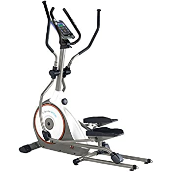 Body Sculpture BE7312G Foldable Programmable Magnetic Elliptical + iConsole