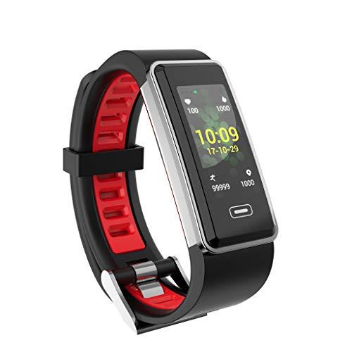 Smartwatch mit Pulsmesser, LCLrute 3D Dynamic Interface Fitness Armband Wasserdicht IP67 GPS Sports Tracker, Unterstützung Kalorienberechnung, Schlafüberwachung usw für IOS Android -