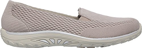 Skechers Women's Relaxed Fit Reggae Fest Willows Slip On,Dark Taupe,US 7.5 - Reggae Skechers Fest