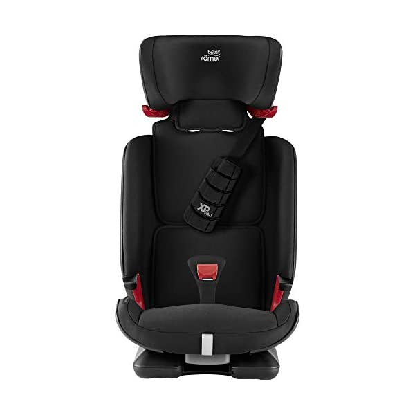 Britax Römer car seat 9-36 kg, ADVANSAFIX Z-LINE Isofix Group 1/2/3, Cosmos Black Britax Römer Made in germany Flip & grow - change from buckle to secureguard Excellent security concept - with xp-pad, secureguard and pivot link isofix system 4