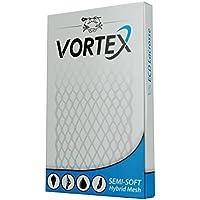 Costa Este tintes (1-Pack) primera infancia Lacrosse Vortex malla, Semi-Soft-White