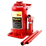SAIFPRO Hydraulic Bottle/Car Jack for Stepney/Tyre Puncture Repair (20 Ton)