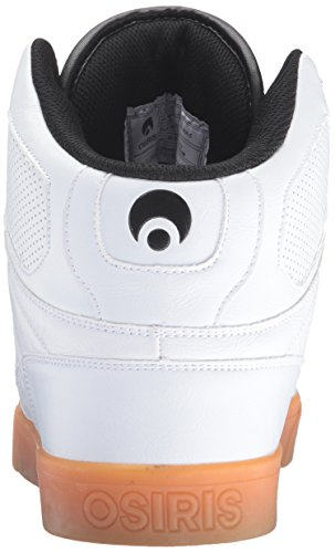 Osiris Nyc83 Vlc, Chaussures de skate homme Blanc/gomme