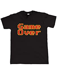 Vectorbomb, Game Over, Drôle Retro Vidéo game T-shirt (Du S au 5XL)