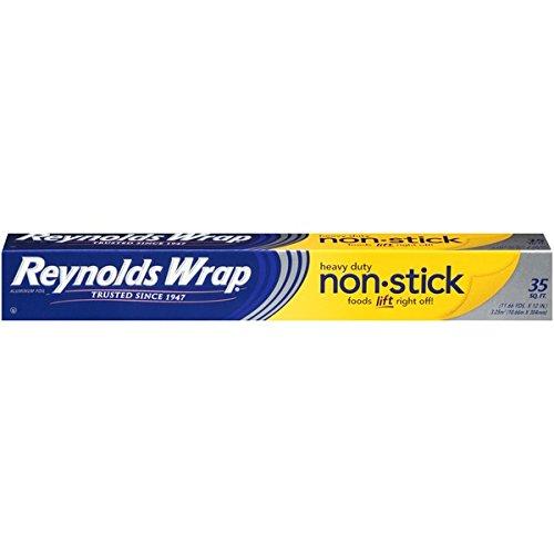 Aluminium Foil Paper : Reynolds Wrap Heavy Duty Non-Stick Aluminum Foil - 1 R...