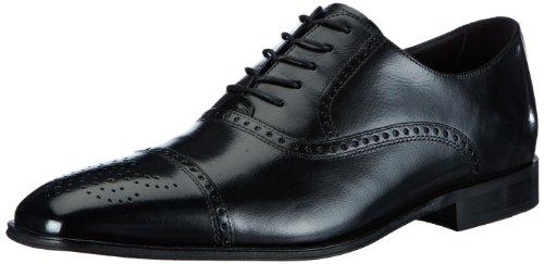 Florsheim Vinton, Herren Klassische Halbschuhe Schwarz (Black Leather)
