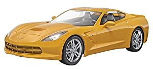 Revell-2014 Corvette Stingray,Escala 1:25 Kit de Modelos de plástico, (11982)