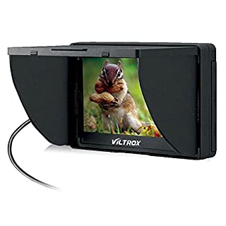 Andoer Viltrox 5 Inch LCD Monitor DC-50 Clip-on HD 800 x 480P Wide View for Canon Nikon Sony DSLR Camera DV